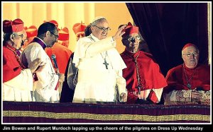Pope on the Verandah