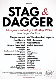 Stag and Dagger Poster