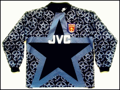 Aresenal Goalkeeper Shirt 1994-95