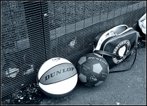 Sports balls, Mansfield Park