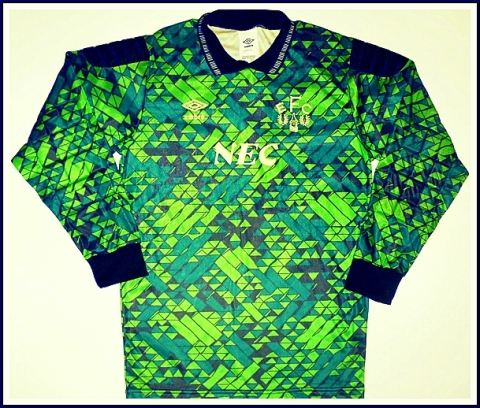 The shirt that took attention away from Neville Southall's tash for two seasons