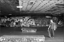 London Southbank skate park