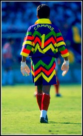 Jorge Campos: Mexico's sporting fashion stakes were always in safe hands