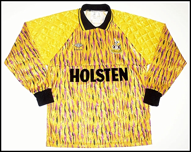 the latest e4c45 21018 Recently dug up this old yellow Tottenham away shirt my dad ...