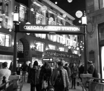 Oxford Circus Station, Dec 2014