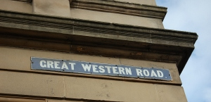 Great Western Road_Signage