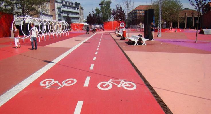 Copenhagen Urban Design | Bike Lanes